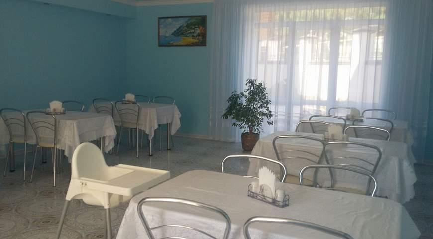 Столовая  отеля в Песчаном
