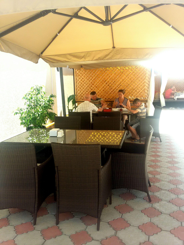 Питание в отеле «Крымские Друзья»